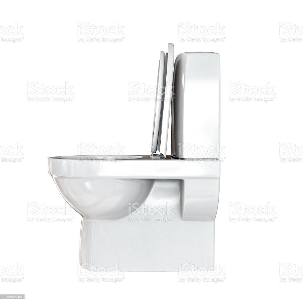 white water closet stock photo