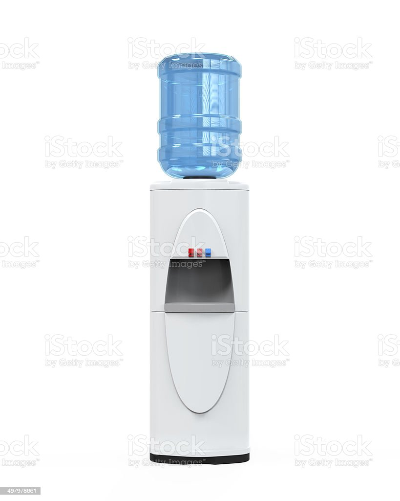 White Water Cooler stock photo