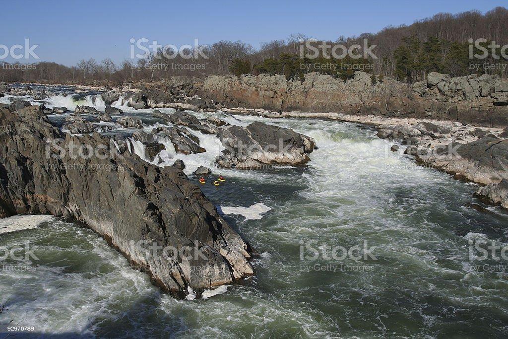 White Water stock photo