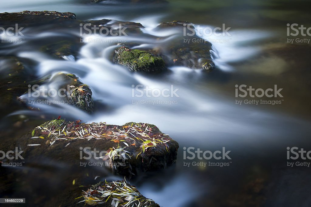 White water rapids royalty-free stock photo