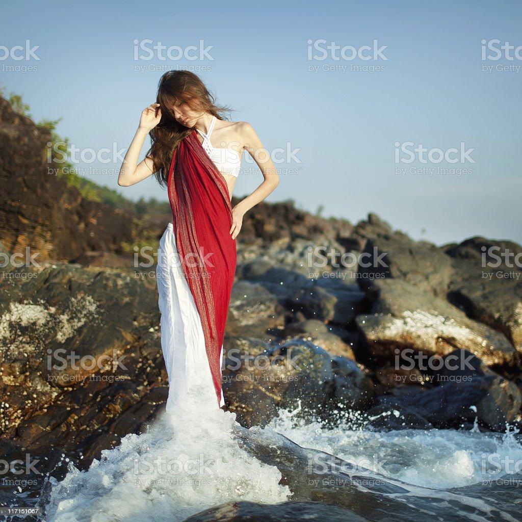 White water series stock photo