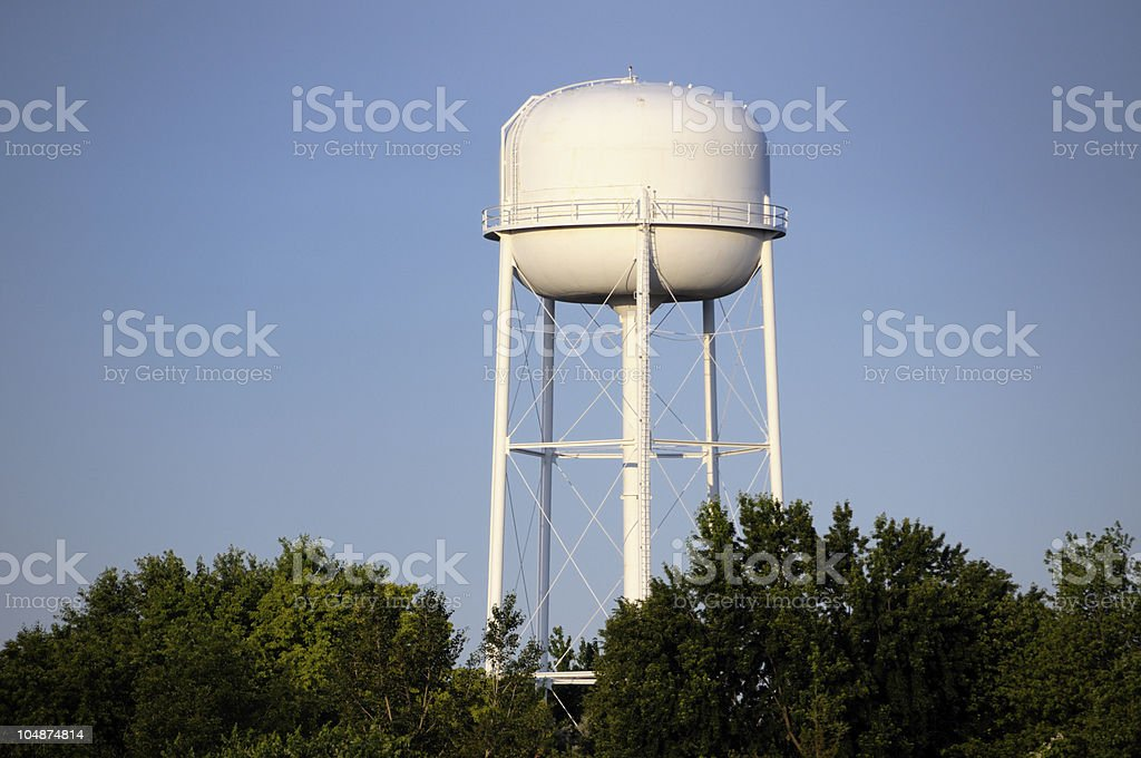 White Water Tower stock photo