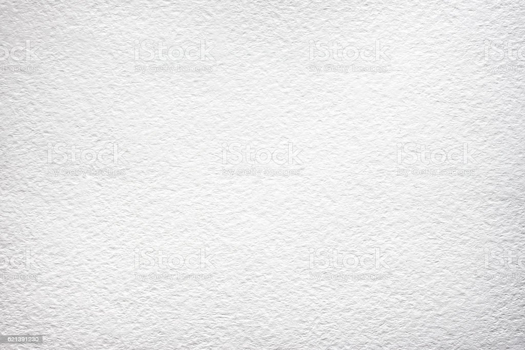 White watercolor paper background stock photo