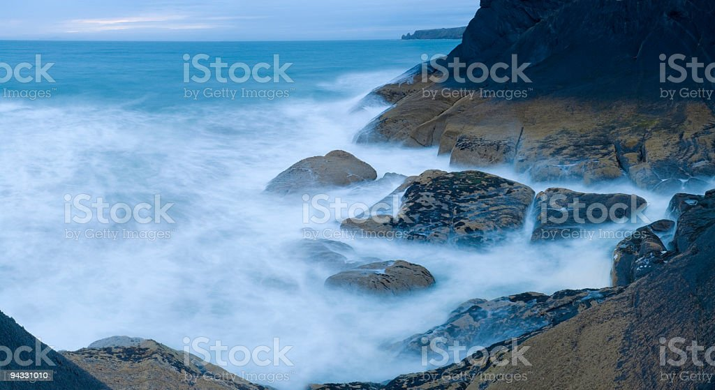White wave whoosh royalty-free stock photo