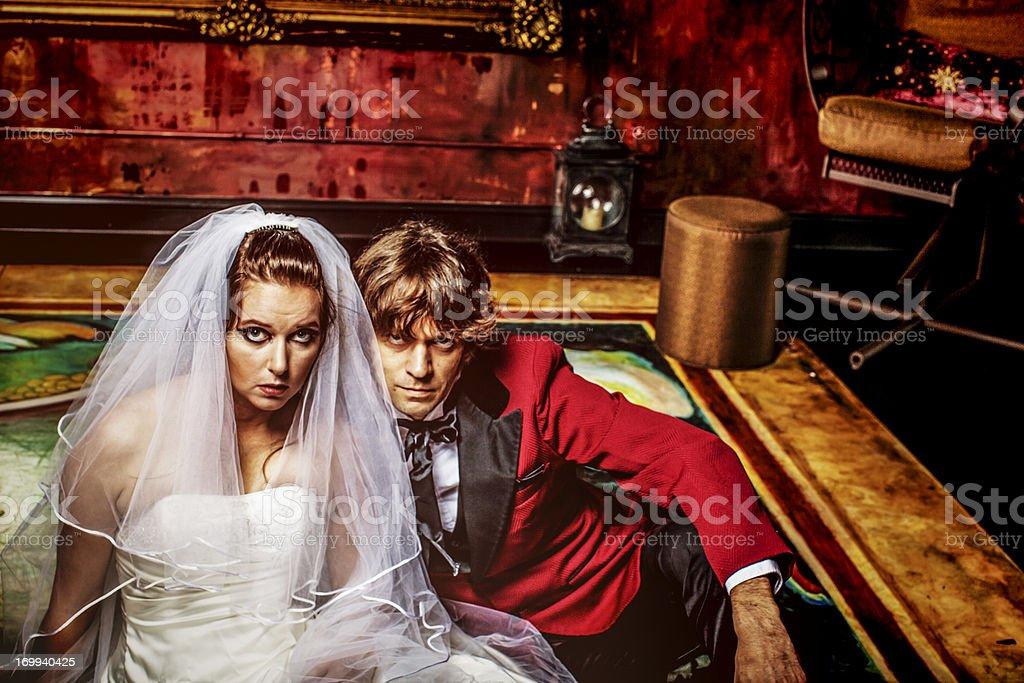 White wedding royalty-free stock photo