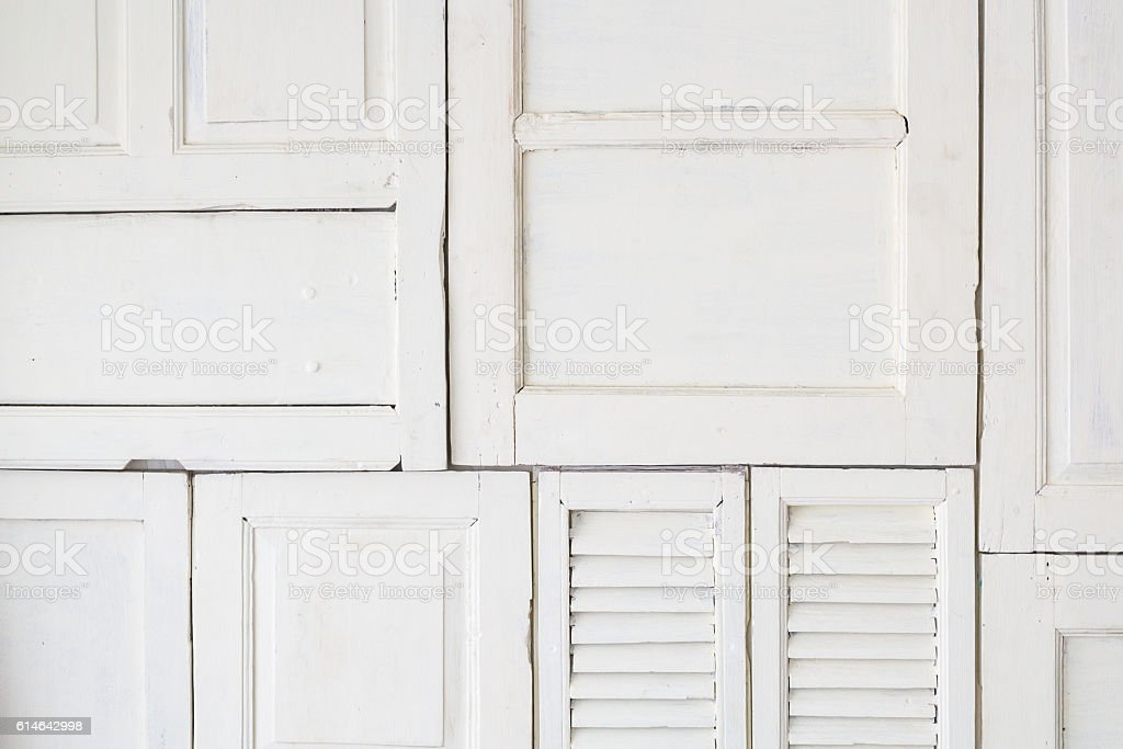 white window, door texture background stock photo