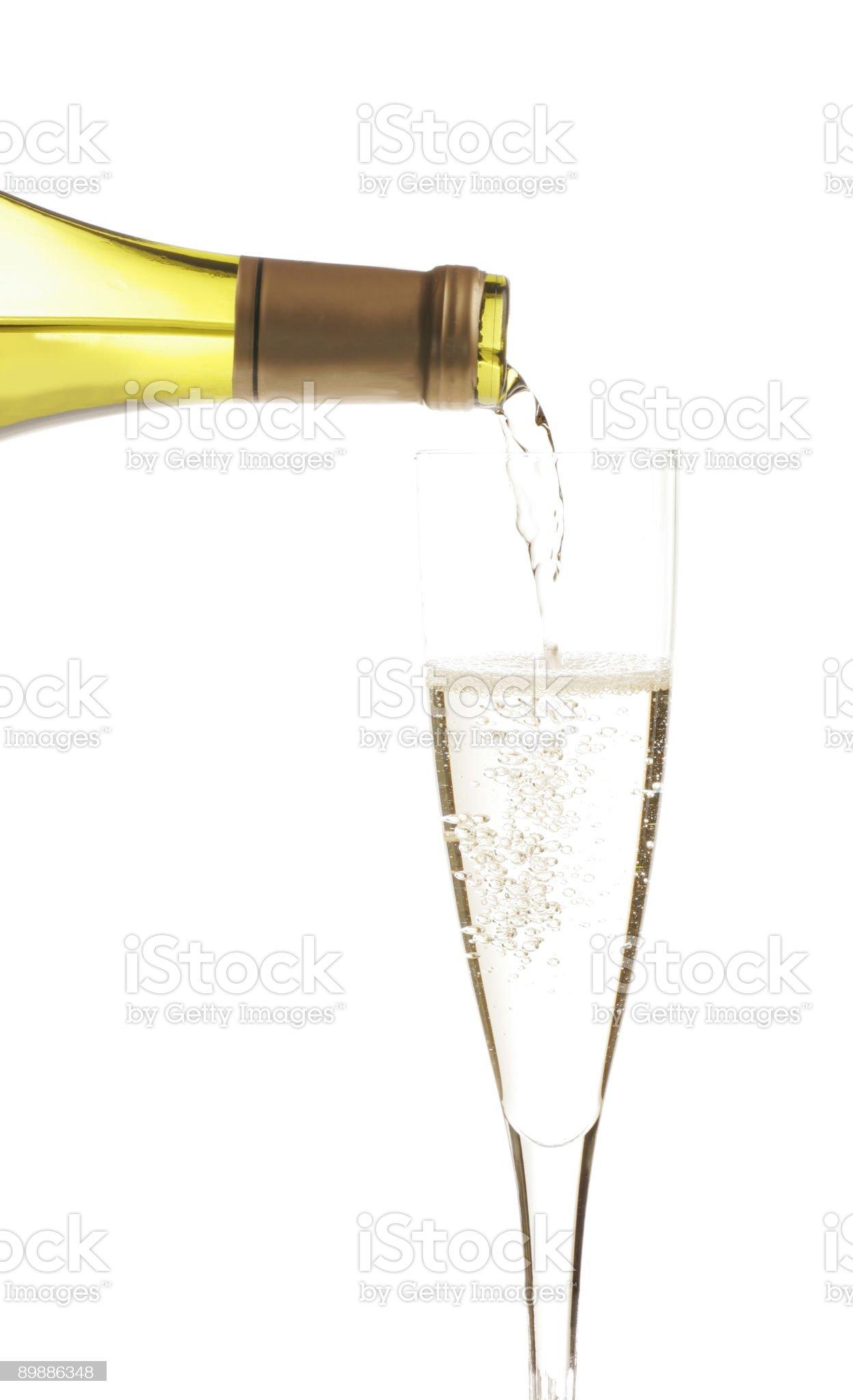 White wine 4 royalty-free stock photo