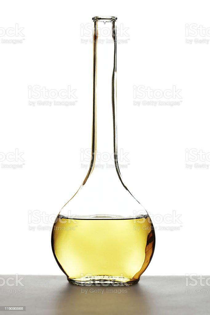 White wine carafe royalty-free stock photo