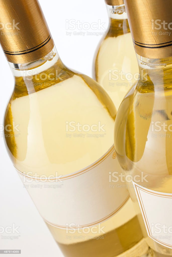 White Wine Collection royalty-free stock photo