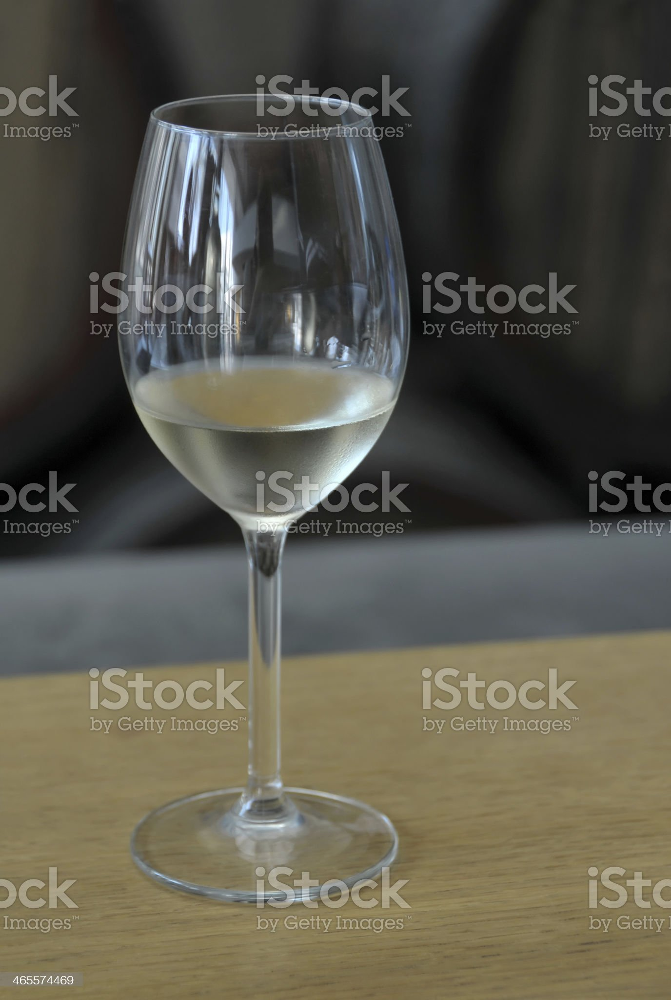 White wine glass royalty-free stock photo