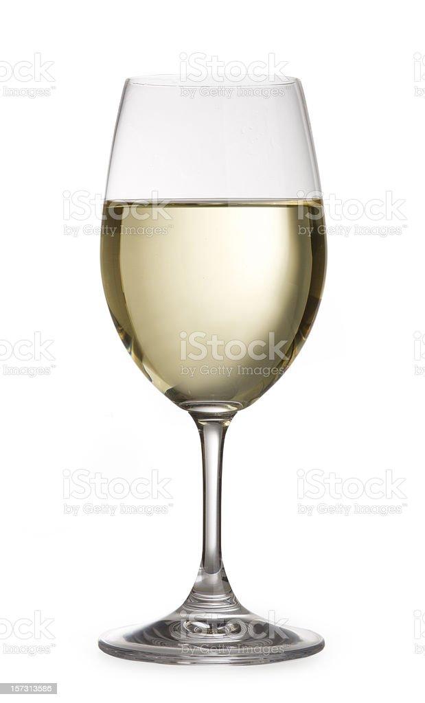 white wine isolated royalty-free stock photo