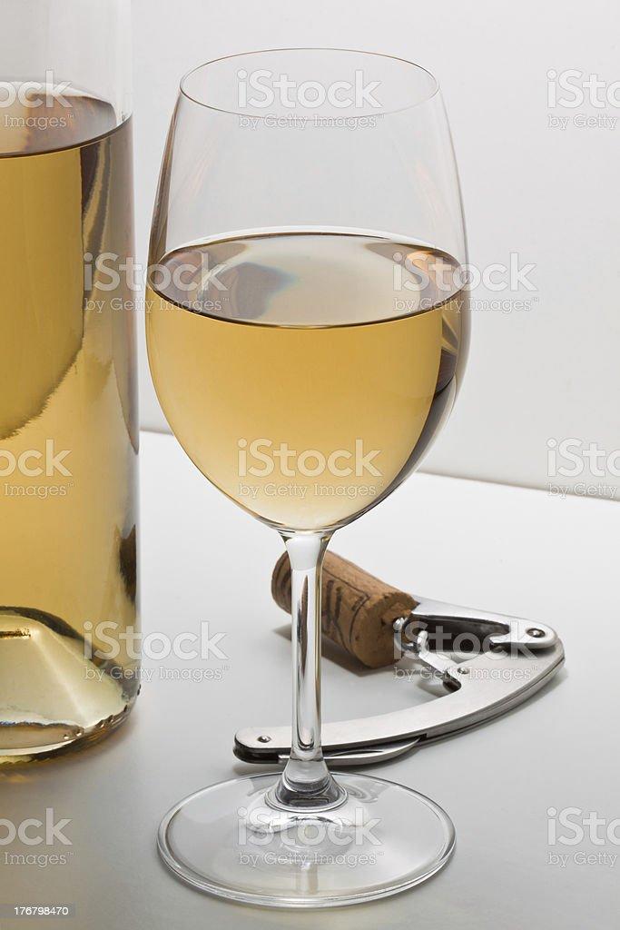 Vinho Branco foto de stock royalty-free