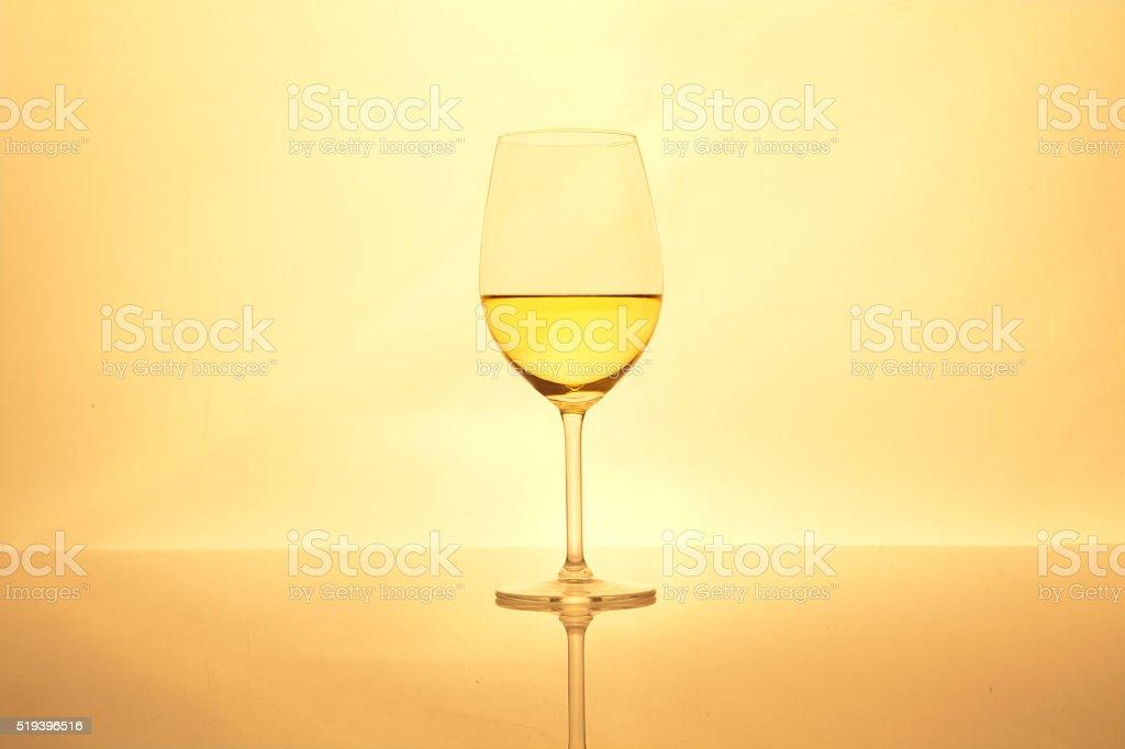 Vino bianco foto stock royalty-free