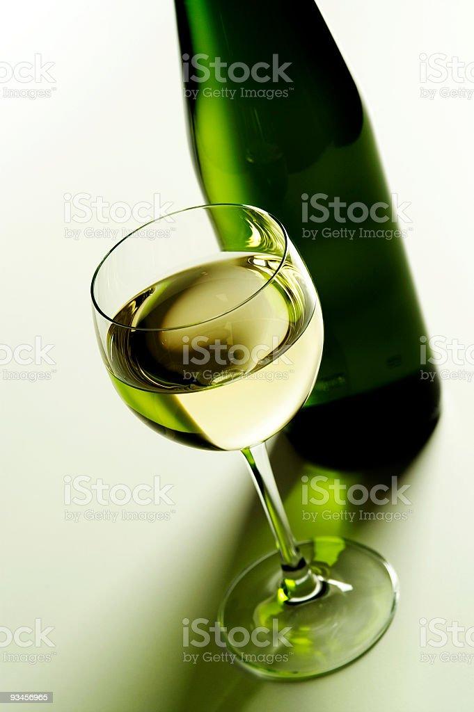 white wine royalty-free stock photo