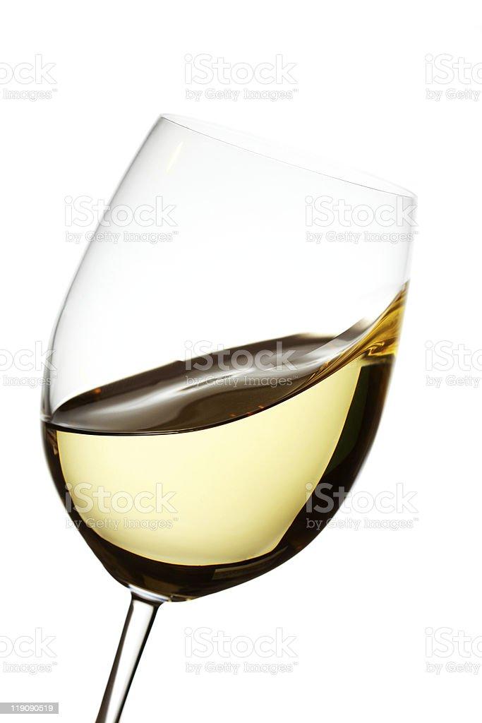 White wine waves stock photo