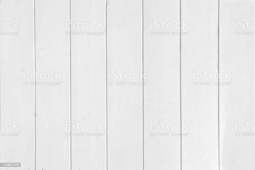 White Wood Boards Panel stock photo
