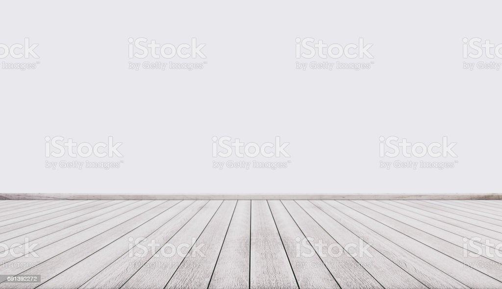 흰색 벽 인테리어 빈 공간 흰색 나무 바닥 스톡 사진 691392272  iStock