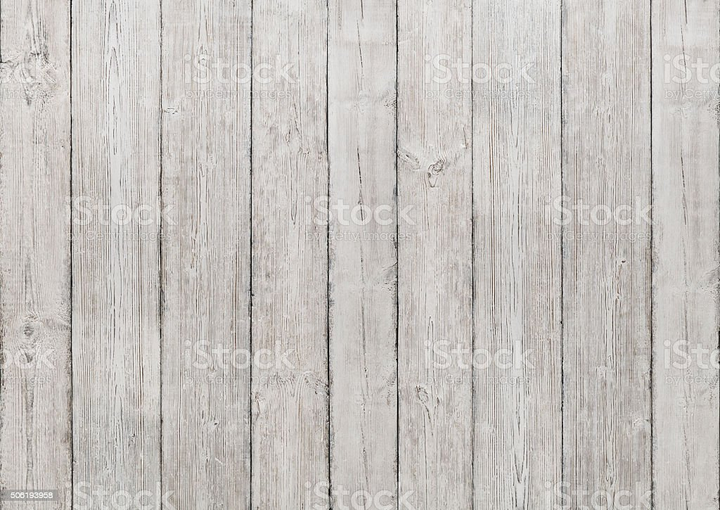 White Wood Planks Background, Wooden Texture, Floor Wall Textured stock photo