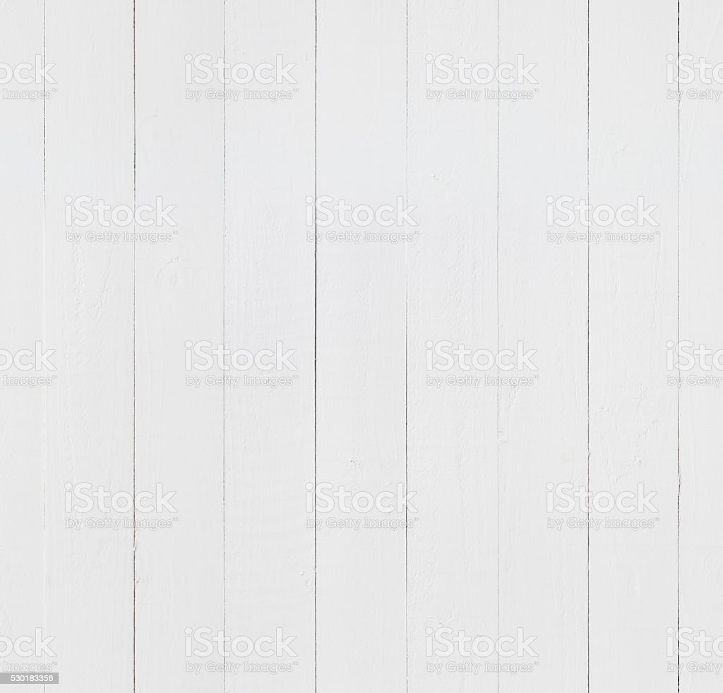 White Wooden Boards Seamless Tile stock photo