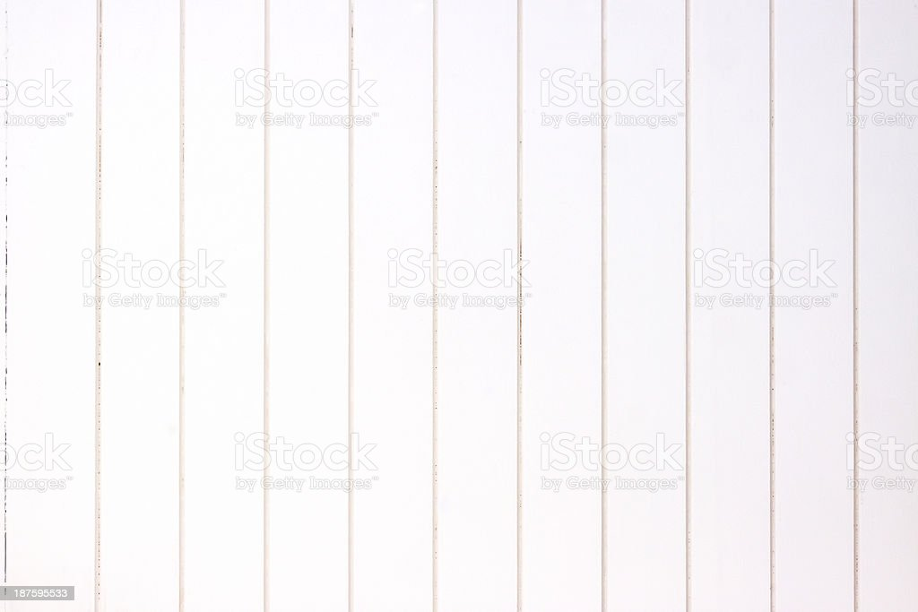 White wooden fence background, copy space royalty-free stock photo