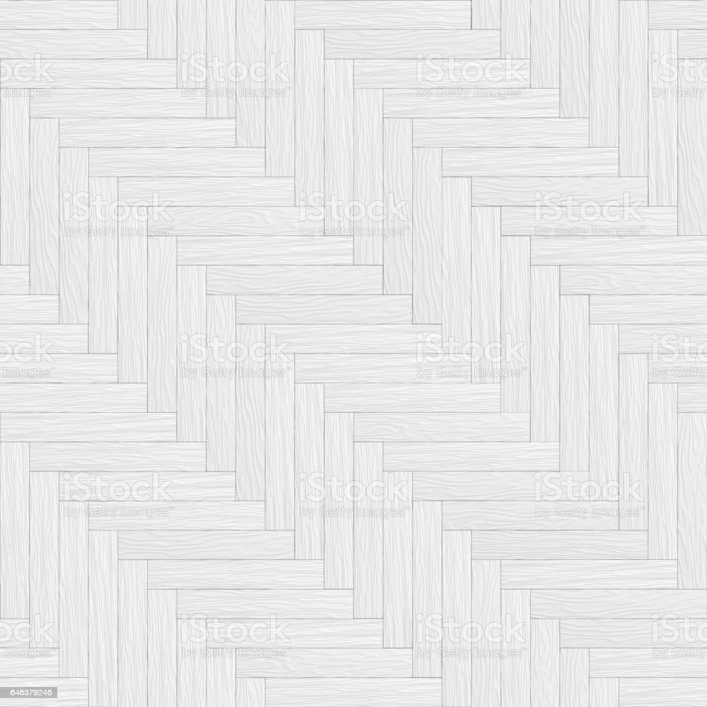 white wooden parquet seamless texture stock vector art 646379246 istock. Black Bedroom Furniture Sets. Home Design Ideas
