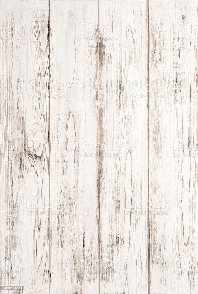 White wooden texture background with natural pattern stock photo