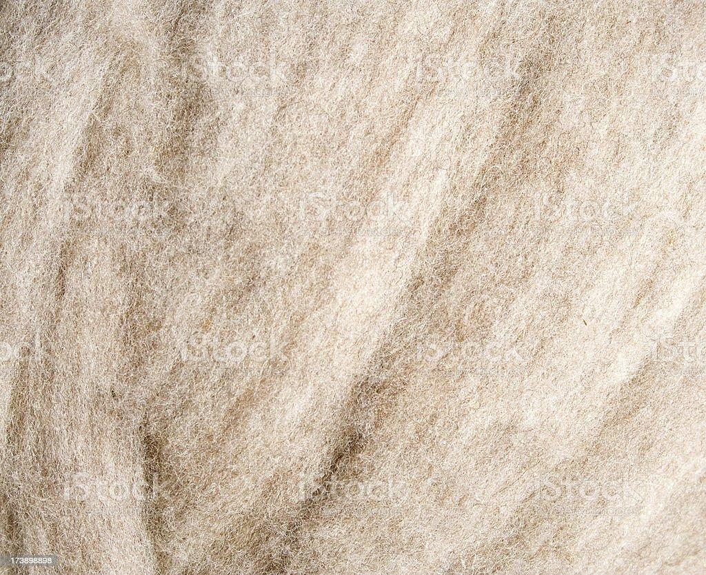 White Wool Fleece stock photo