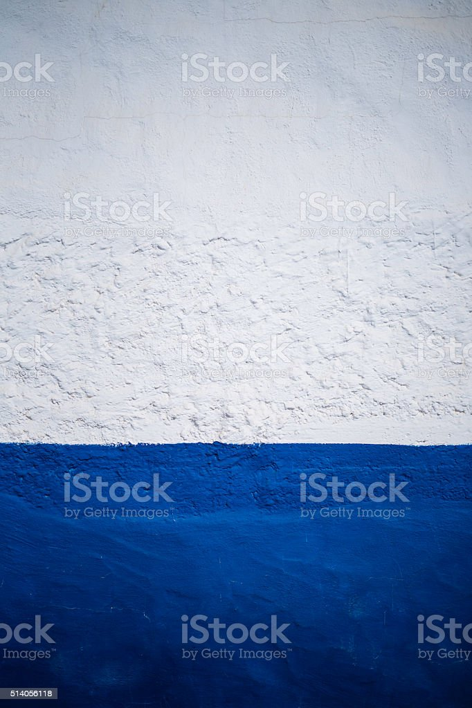 white-blue wall texture stock photo