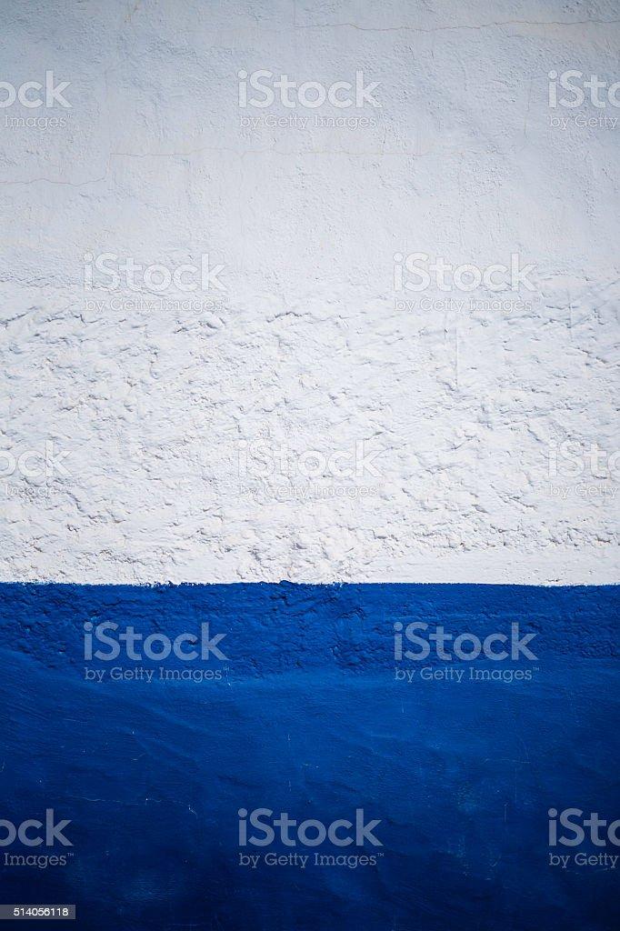 white-blue wall texture stock photo