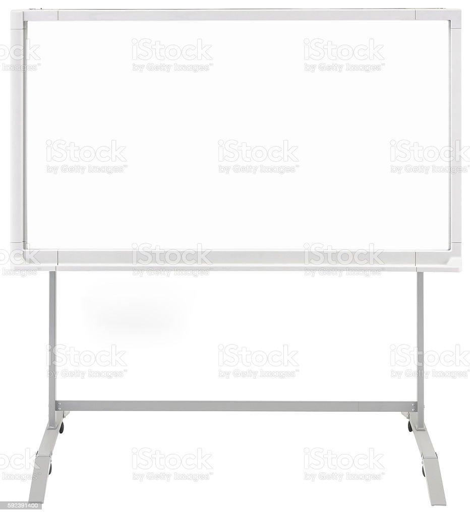 Whiteboard stock photo