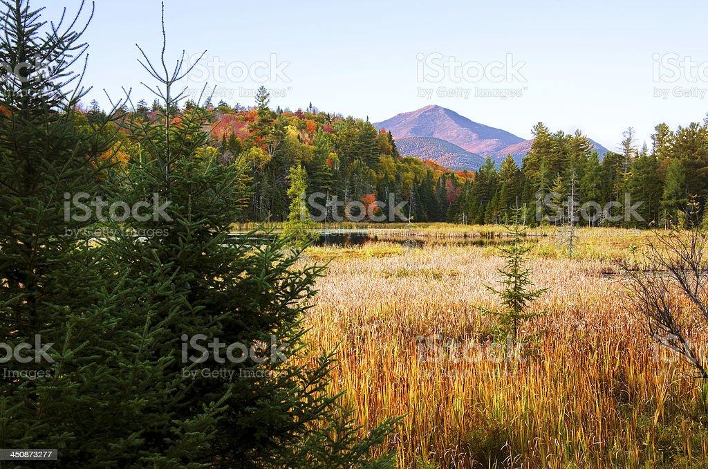 Whiteface mountain Adirondacks royalty-free stock photo