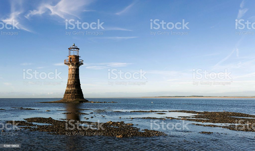 Whiteford Lighthouse stock photo