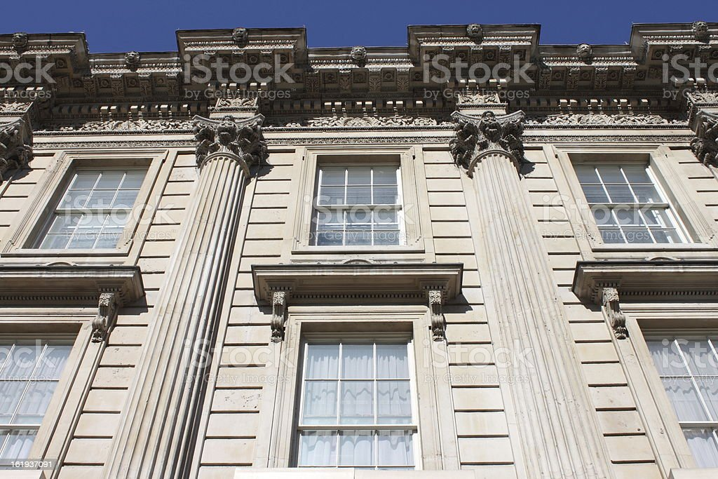 Whitehall building facade royalty-free stock photo