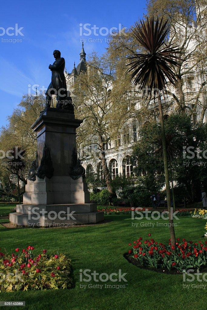 Whitehall Garden stock photo