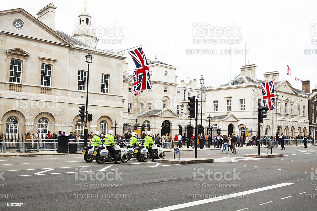 Whitehall royalty-free stock photo