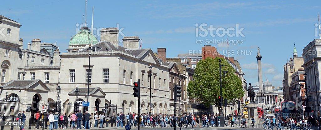 Whitehall road London England UK stock photo