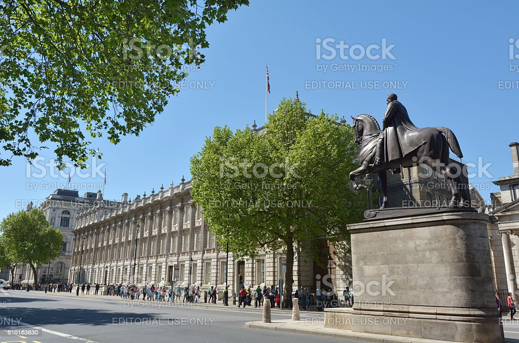 Whitehall road London England UK stock photo