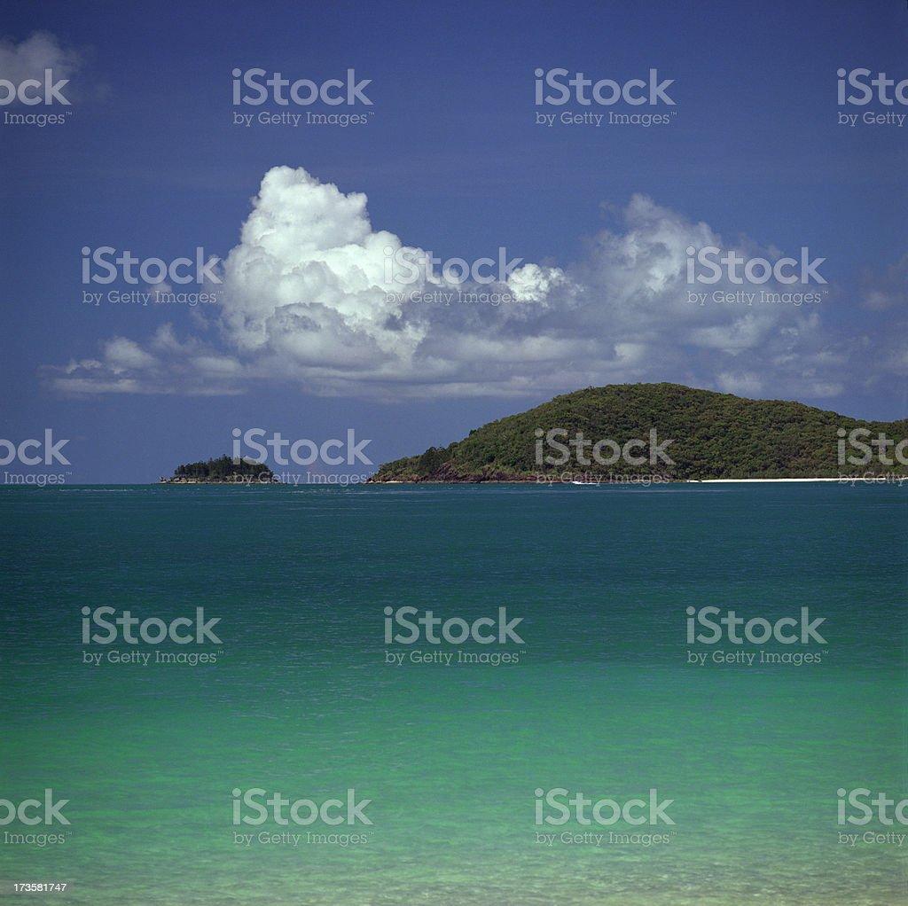 Whitehaven Beach royalty-free stock photo