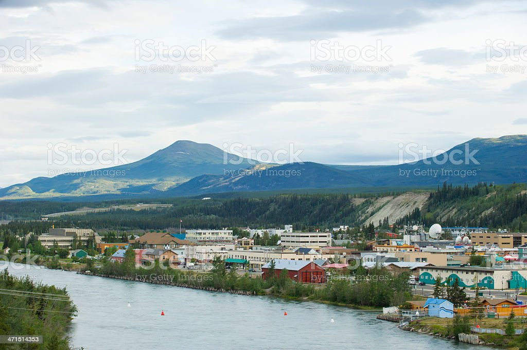 Whitehorse, Yukon stock photo