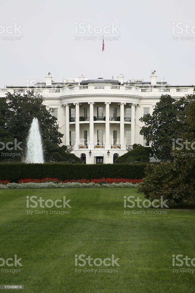 Whitehouse royalty-free stock photo