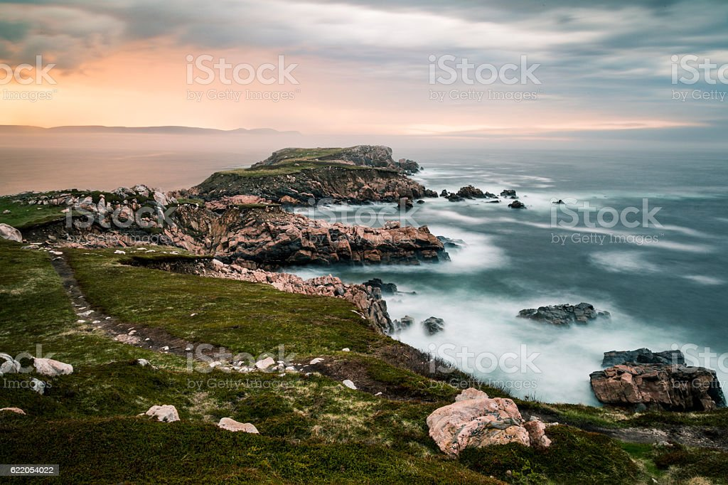 Whitepoint, Cape Breton stock photo