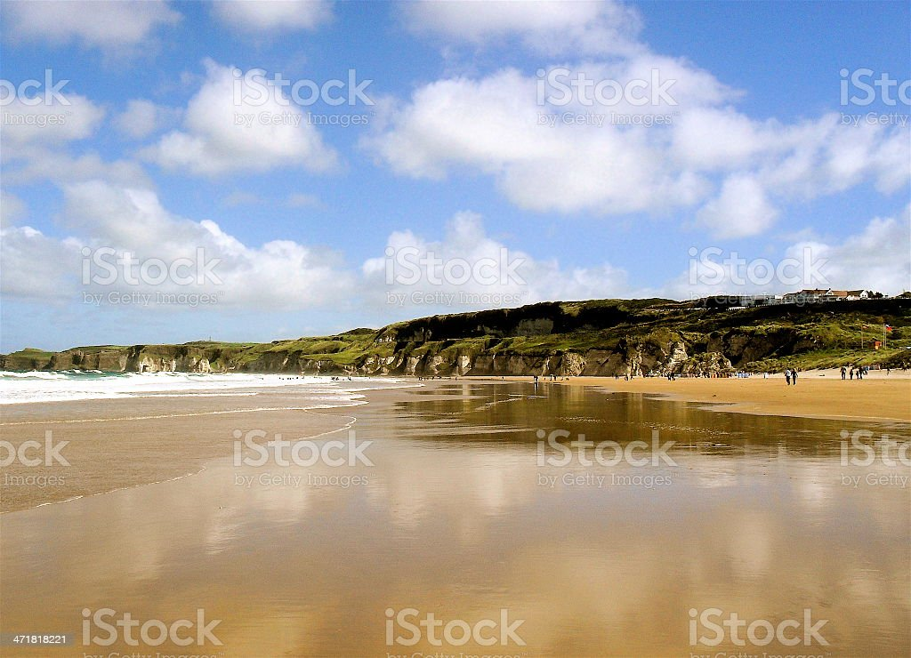 Whiterocks Beach stock photo