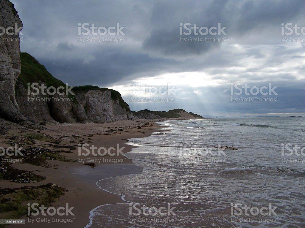 Whiterocks Beach stock photo