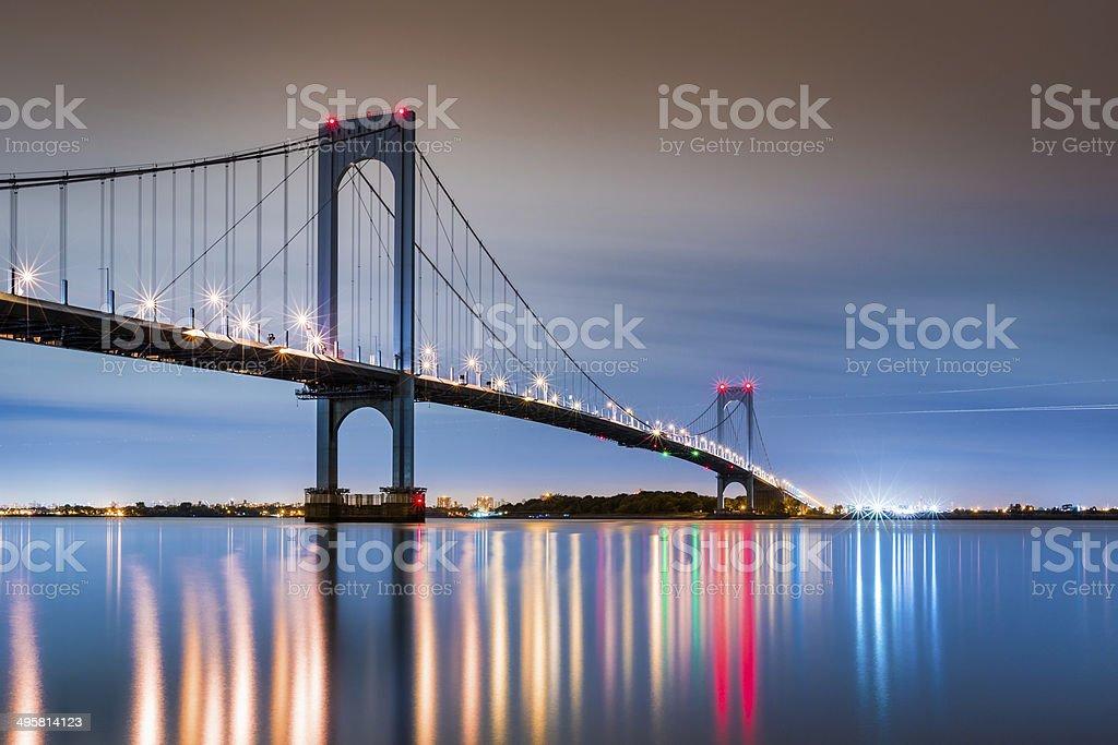 Whitestone Bridge stock photo