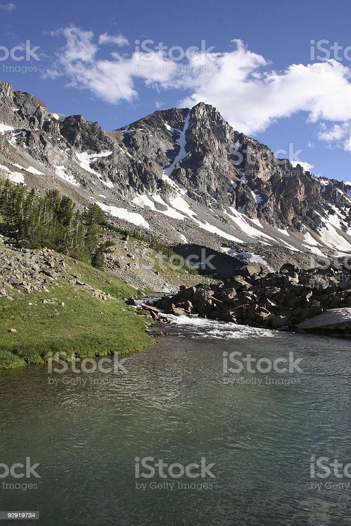 Whitetail Peak - Montana royalty-free stock photo