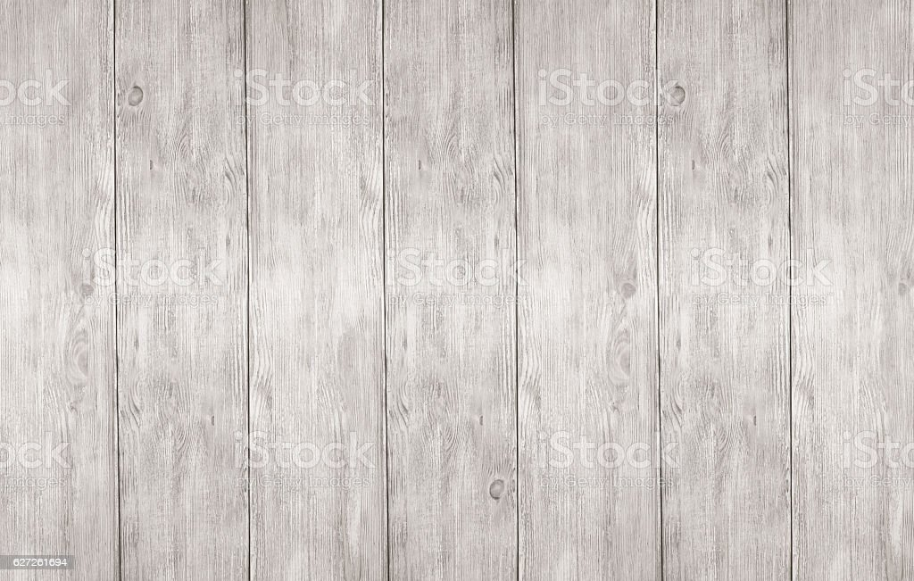 Whitewash wooden planks boards panel texture background. stock photo