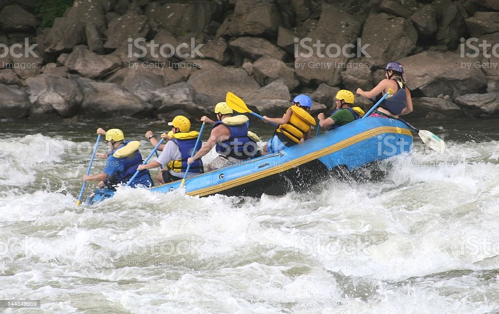 Whitewater stock photo