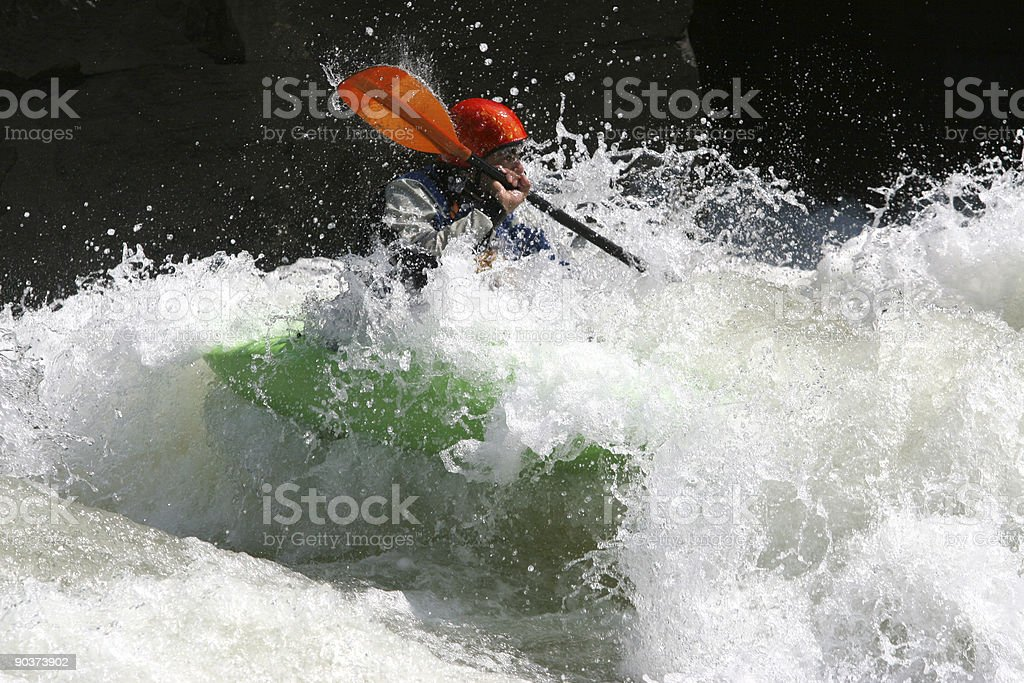 Whitewater royalty-free stock photo