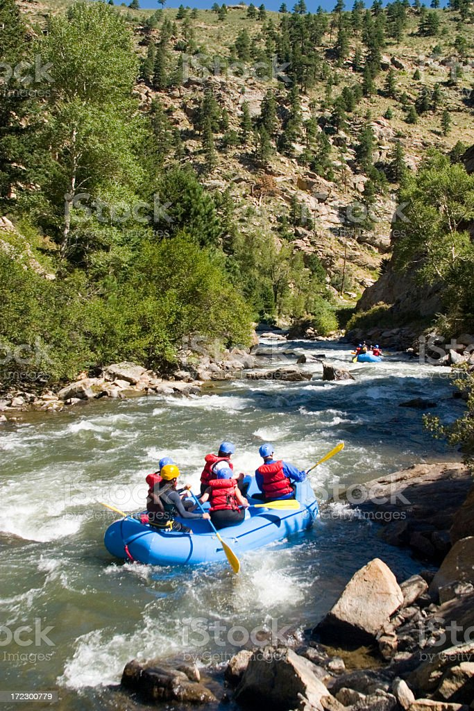 Whitewater Canyon stock photo