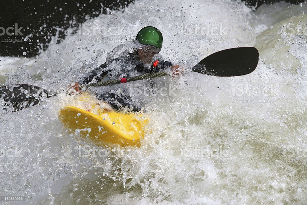 Whitewater Rangler royalty-free stock photo